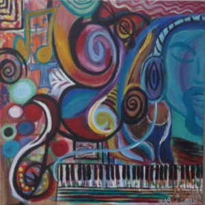 PAINTING-The Color of Music