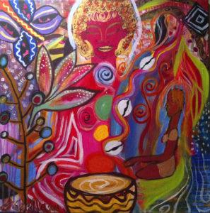 abundance painting
